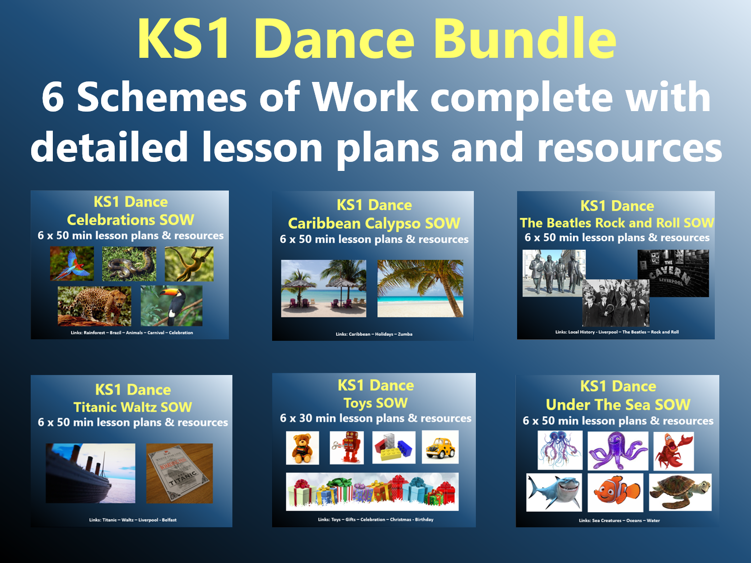 KS1 Dance Bundle