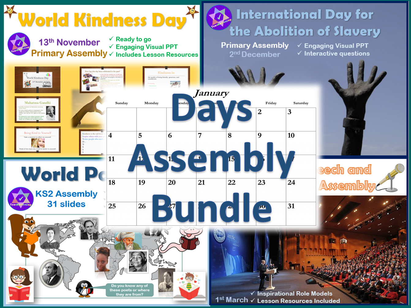 Assembly Bundle for Special Days