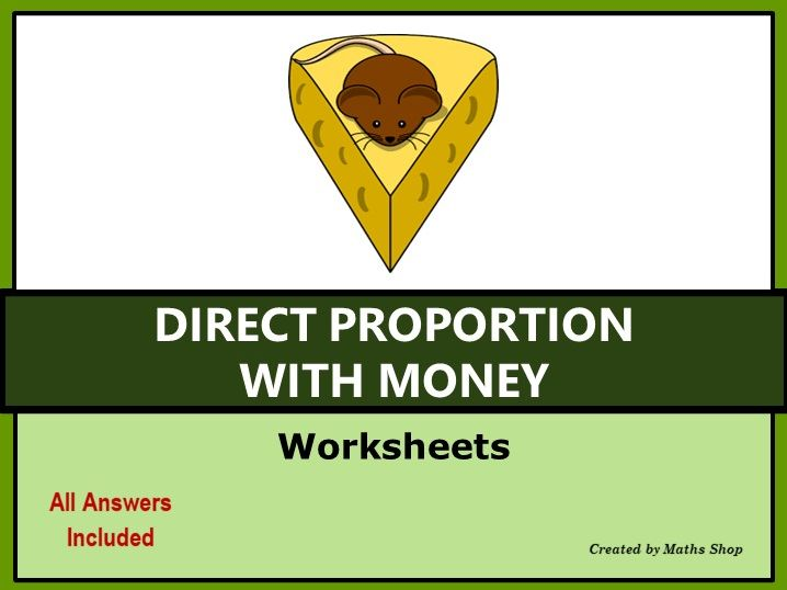 Direct proportion with Money