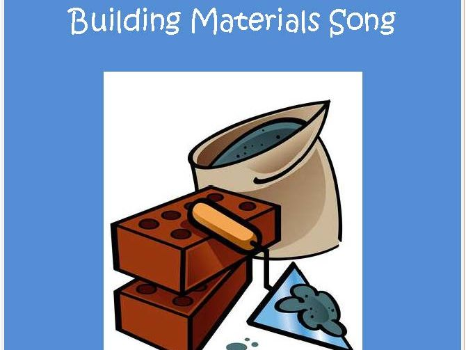 Building Materials Song