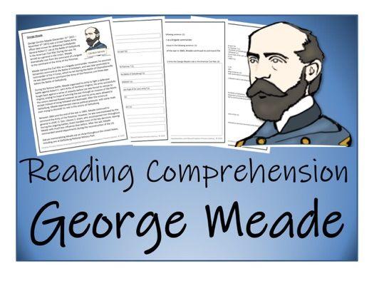UKS2 - George Meade Reading Comprehension Activity
