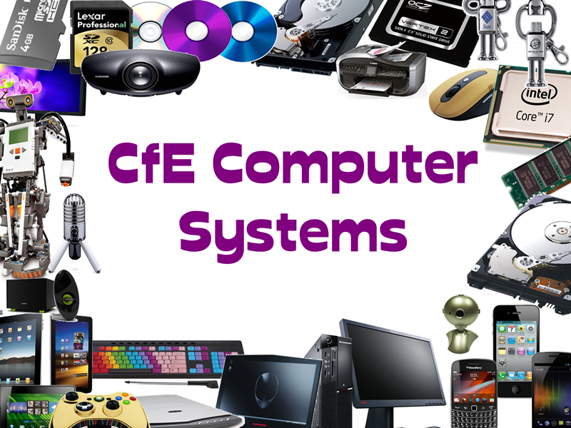 Computing Science Curriculum for Excellence Computer Systems Unit