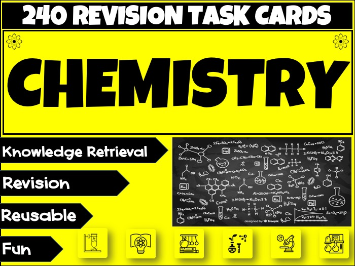 Chemistry Science Revision