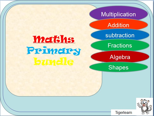 The complete primary Maths Bundle - 20 pieces
