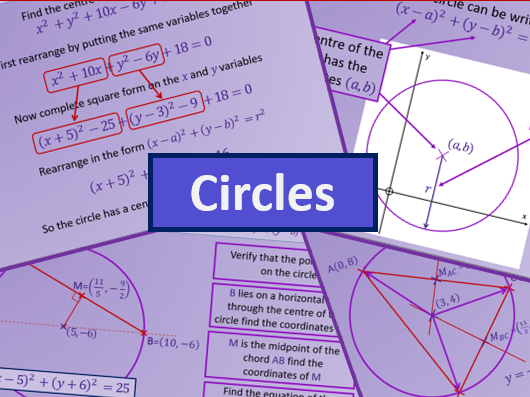 Circles - A level AS Mathematics