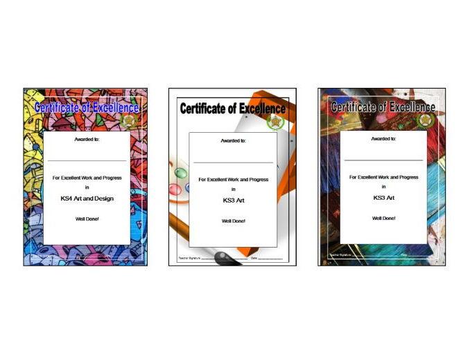 Art Certificates