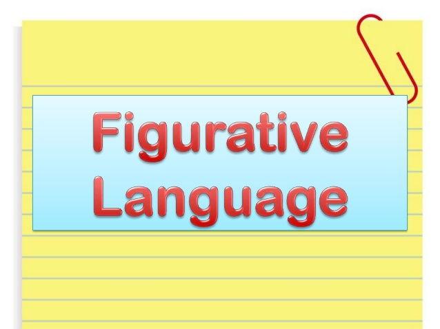 Figurative Language (Simile, metaphor, personification ...
