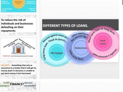 Internal and External Finance
