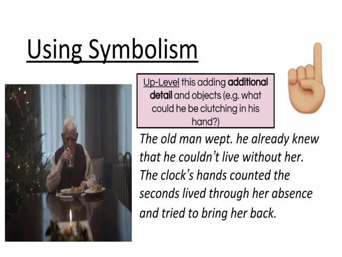 Creative Writing: Using Symbolism
