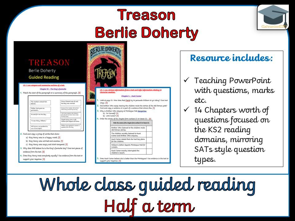 Treason - Whole class guided reading