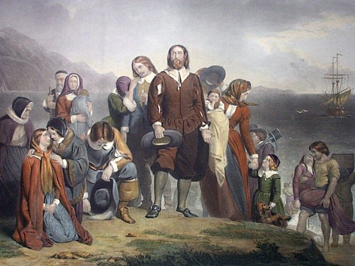Image result for pilgrim fathers
