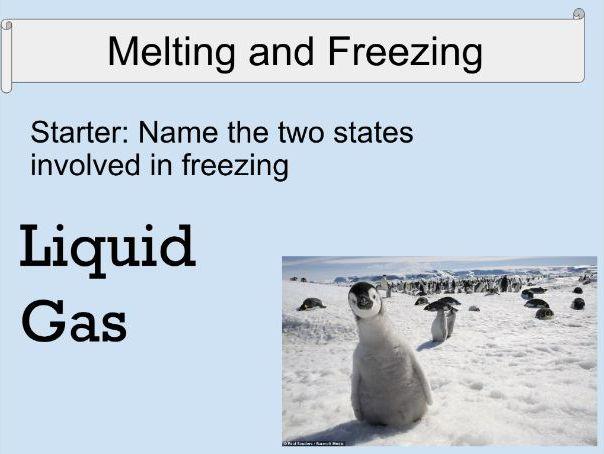 C1.3 Melting & Freezing Activate 1 KS3
