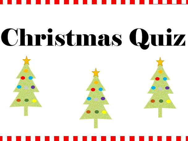 Christmas Quiz (with educational value!)