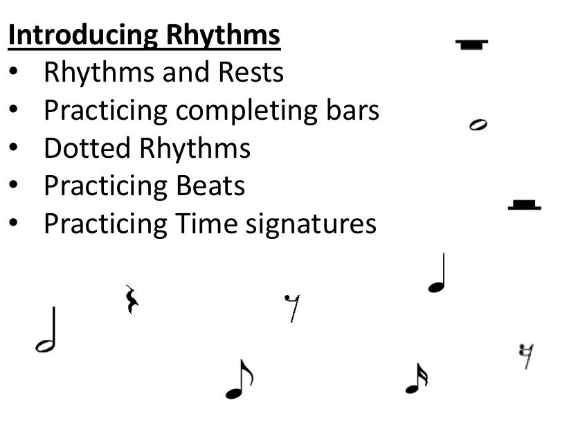 Intro to Rhythms