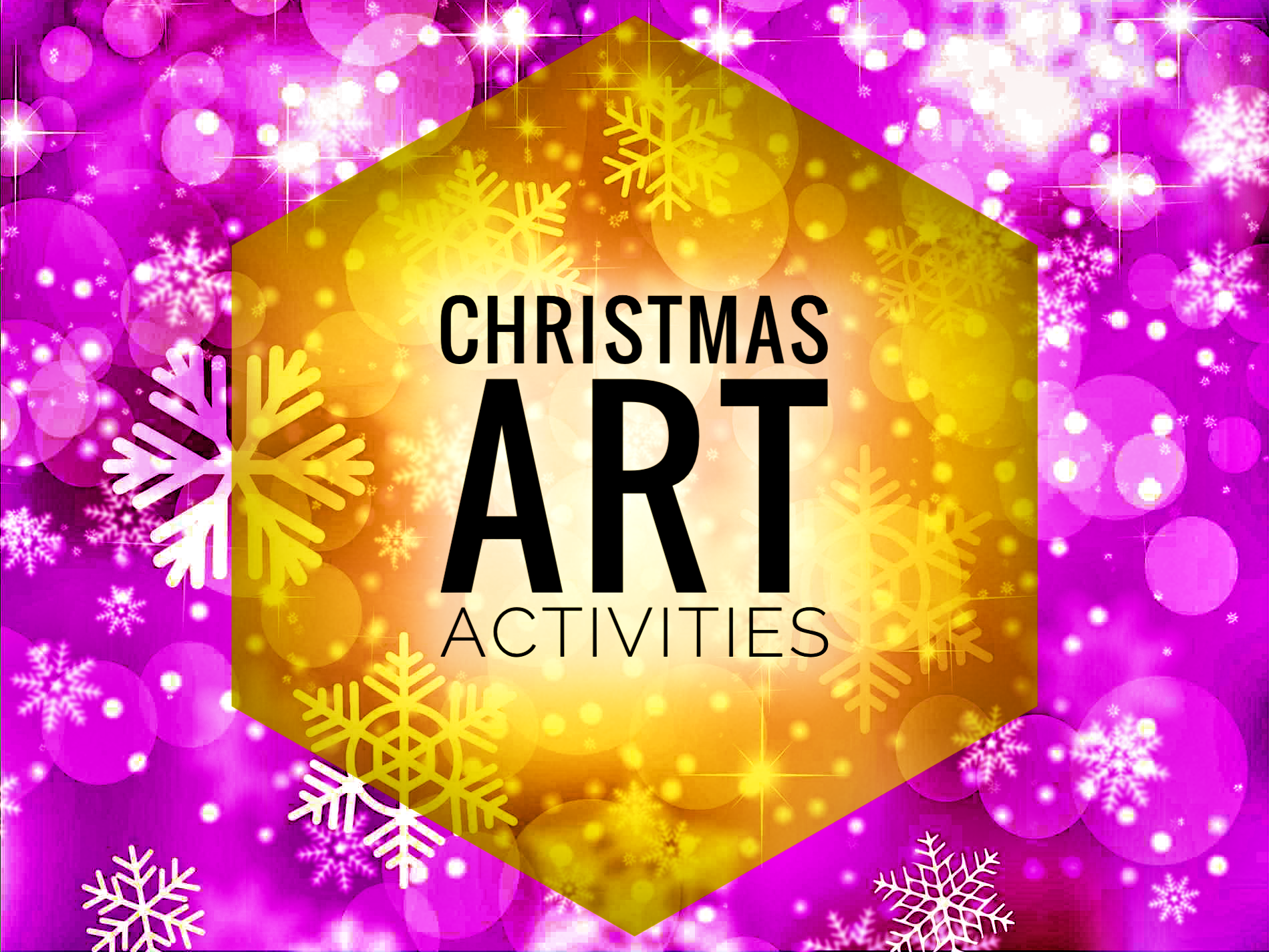 ART. Christmas Drawing Activities