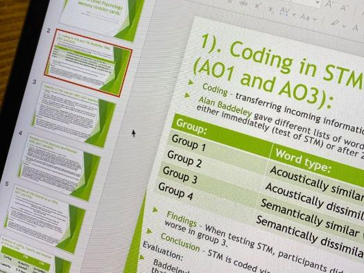 AQA A-Level Psychology revision bundle