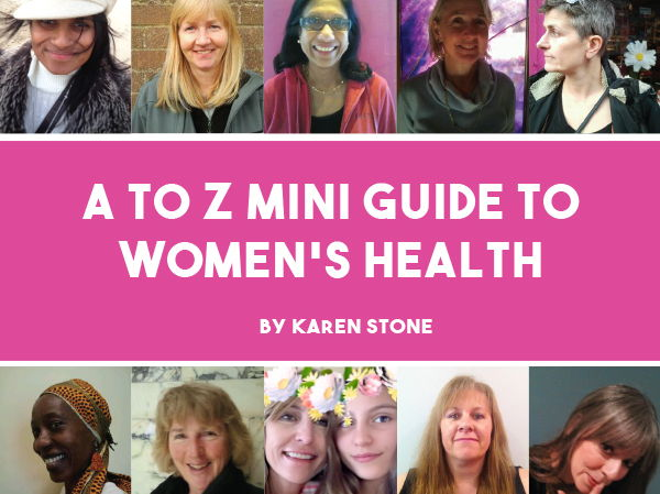 A to Z mini-guide to women's health is an holistic reference book