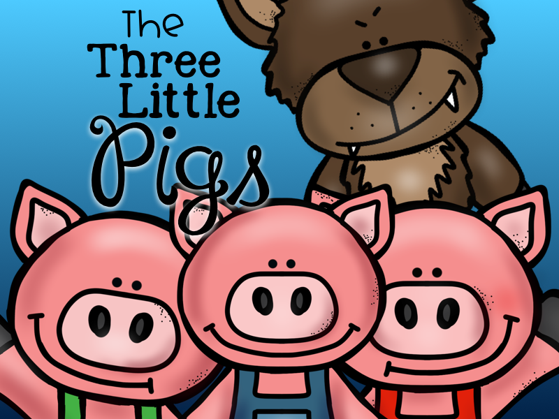 The Three Little Pigs: Picture Sequencing