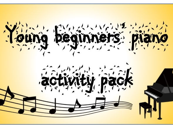 Young beginners' piano activity pack