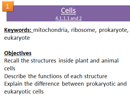 Chemical analysis aqa c2 topic 8 quick fire questions 9 1 gcse aqa trilogy and triple biology b1 cell biology 12 lessons publicscrutiny Images