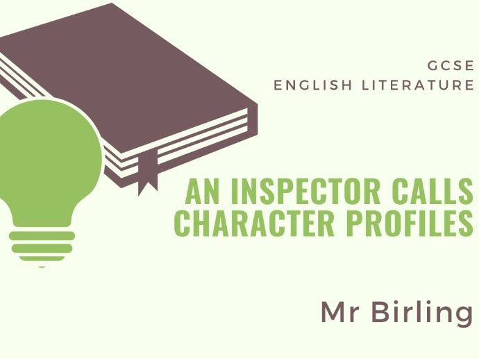 An Inspector Calls - Mr Birling - Character Profile
