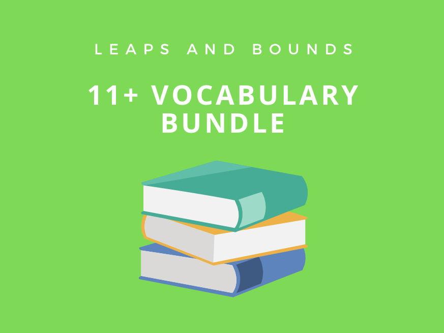 11 Plus Vocabulary Bundle