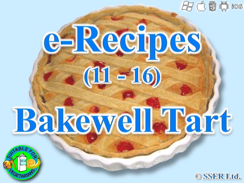 4. Bakewell Tart (e-Recipe)