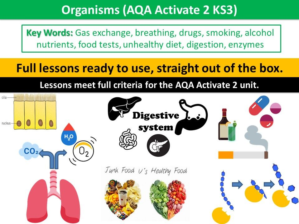 Organisms (AQA Activate 2 KS3)