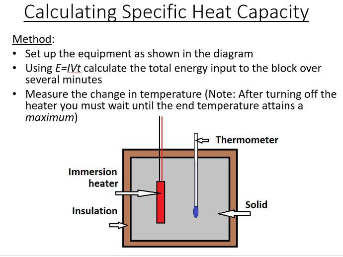 BTec Engineering - Specific Heat Capacity and Latent Heat (PowerPoint & Worksheet)