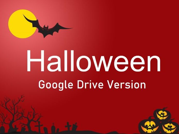 Halloween Games Presentation - Full Class Games - Grades 4-5 - Google Drive