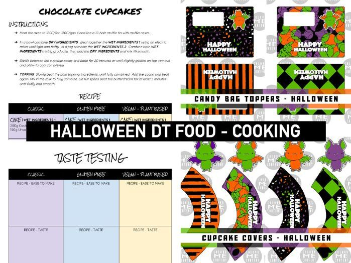 HALLOWEEN | DT Food Cooking Cupcake Activity