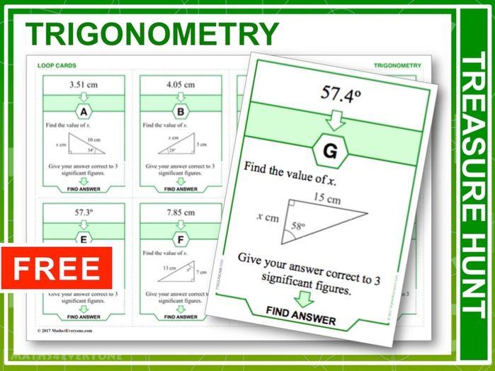 Trigonometry (Treasure Hunt)