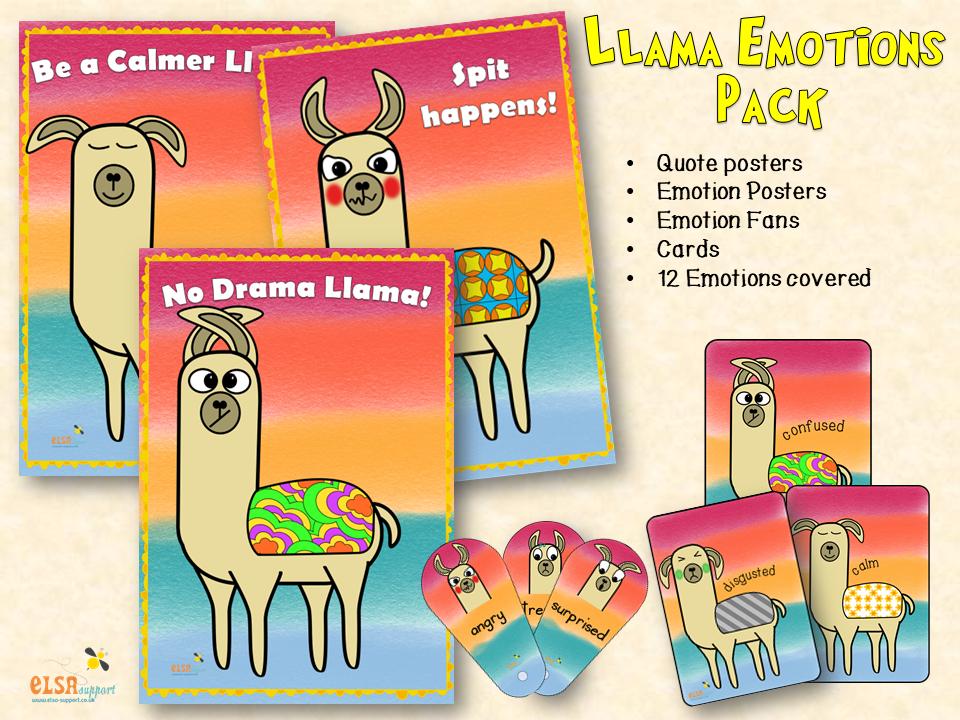 Emotions - Llama style