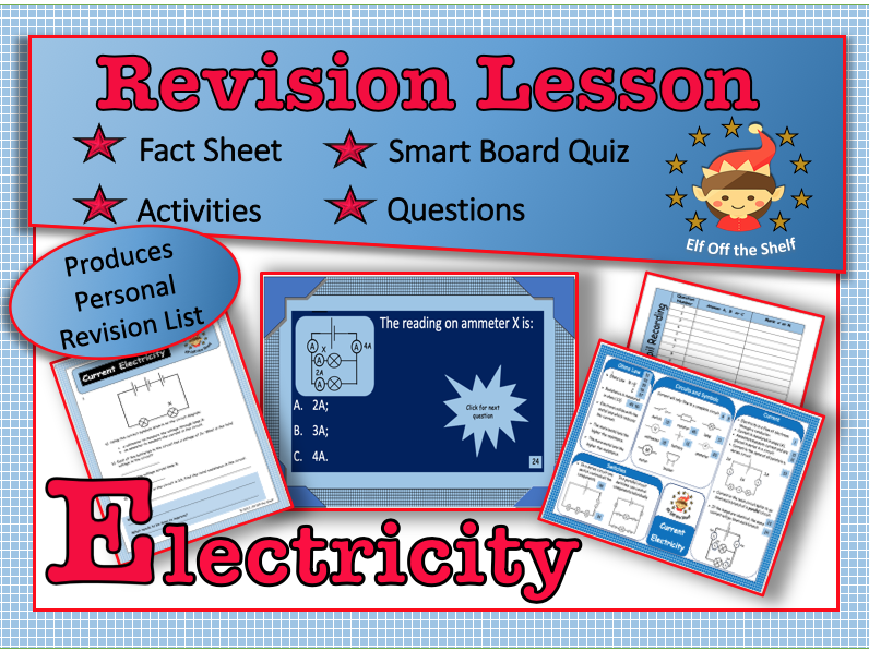 Current Electricity - KS3 Whole Module Revision Lesson
