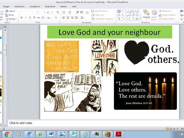 Eduqas B Component 1 Theme 2 Good & Evil : Jesus and moral authority