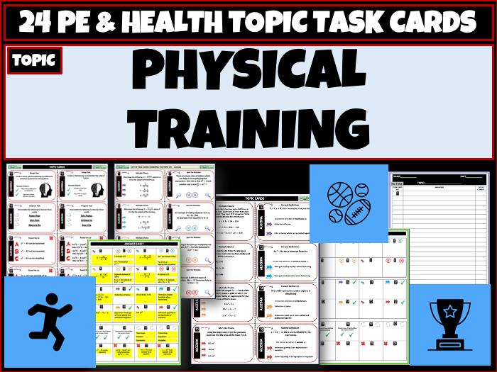 Physical Training - GCSE PE