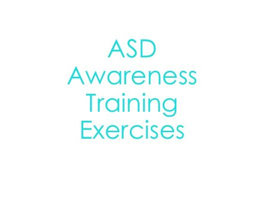 ASD Training Activities
