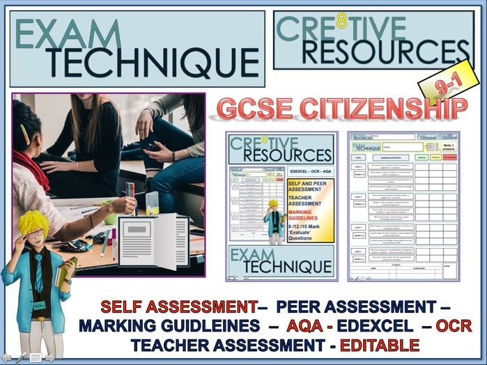 GCSE Citizenship 9-1 Exam Technique Marking Criteria Grids
