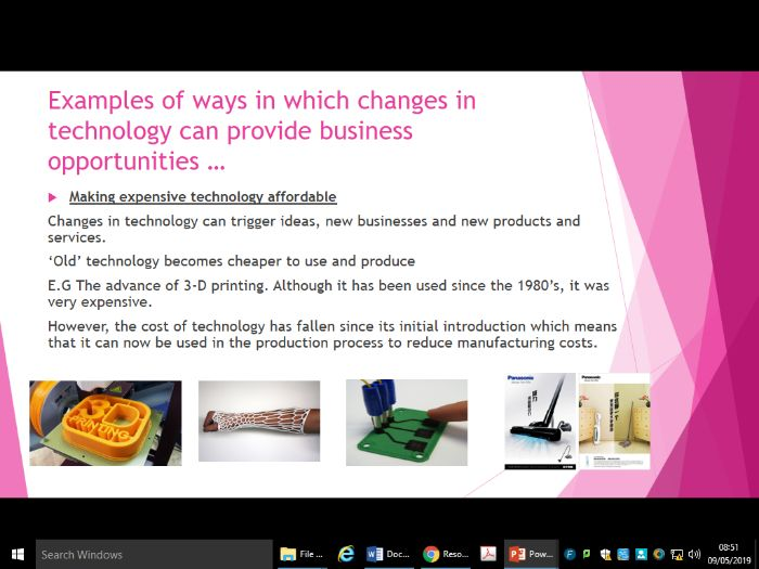 Enterprise, innovations and obsolescence