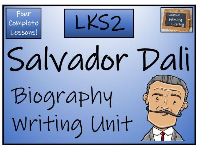 LKS2 Salvador Dali Biography Writing Unit