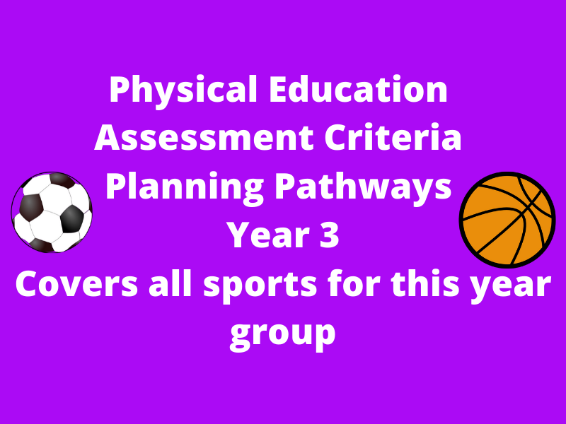 Physical Education Assessment Criteria Year 3