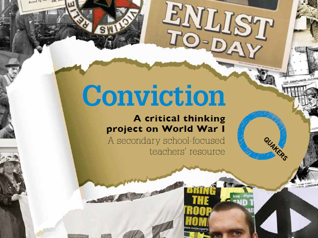 Conviction, A WWI critical thinking Project