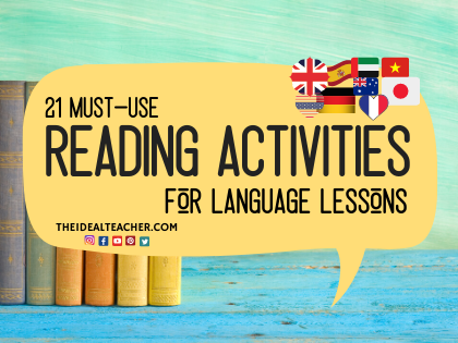 Must-Use Reading Activities for Languages