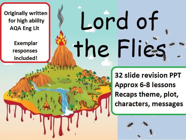 Lord of the Flies GCSE Revision for AQA - 32 slide PPT