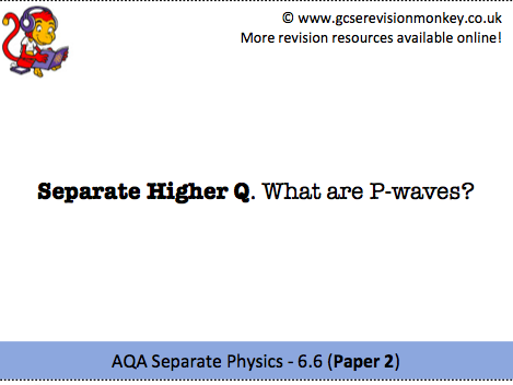 Revision Cards - AQA Separate Physics 6.6