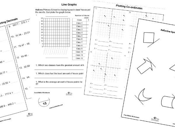 Year 6 Maths BUNDLE answers