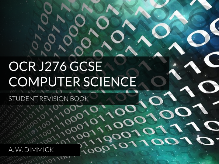 OCR GCSE Computer Science Student eBook