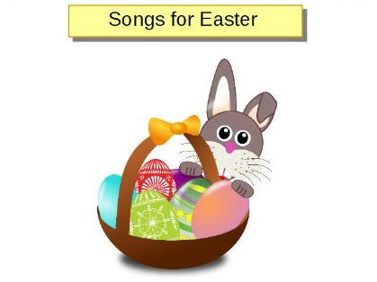 Easter songs and rhymes for EY, KS1&2