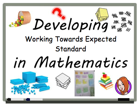 Year 2 - WORKING TOWARDS EXPECTED STANDARD - BUNDLE - FULL PACK Maths - NEW 2018 - Editable - Updated