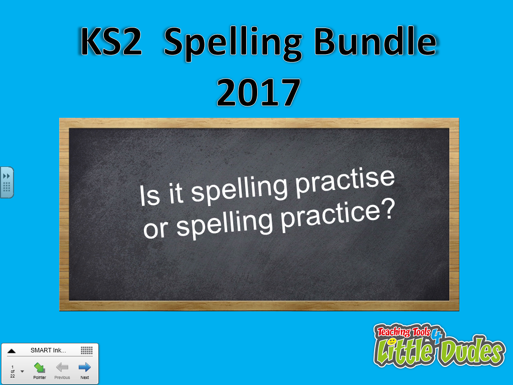 KS2/Key Stage 2 Spelling Revision Bundle